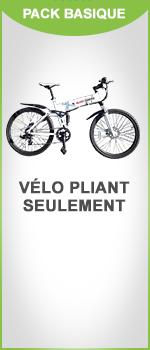 VTT pliant 26PM4 - Blancmarine - Pack basique